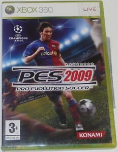Details about Pro Evolution Soccer 2009 - Xbox 360 Game