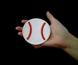 BASEBALL BALL MLB LEAGUE SPORTS BADGE IRON SEW ON PATCH