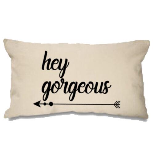 HEY Magnifique Et Hi beau Housse de coussin Valentine Day 51cmx30cm couple decor