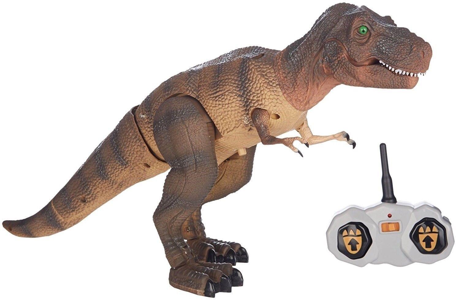 NEW Smithsonian RC T.Rex radiostyrd animerad actiondinosaurie SEALD