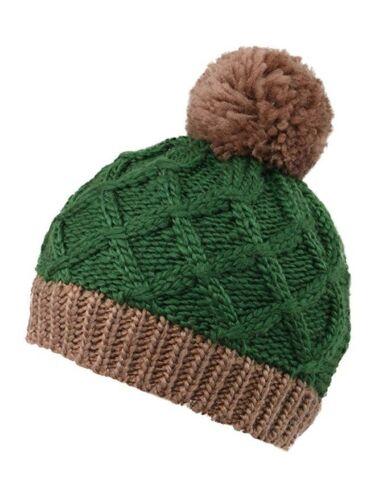 Arctic Paw Boys//Girls Winter Hat Kids Children Knit Beanie Green Winter Cap