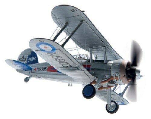 Corgi Gloster Gladiator MkII Fighter Collection 1 72   AA36210