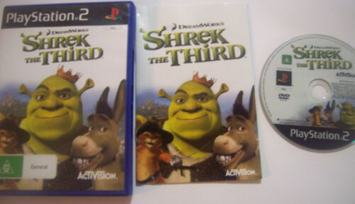 1 of 1 - Shrek The Third (Sony PlayStation 2, 2007) PS2 Game Dreamworks Complete PAL