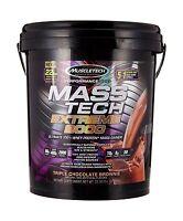 Muscletech Mass Tech Extreme Triple Chocolate Brownie Weight Ga... Free Shipping