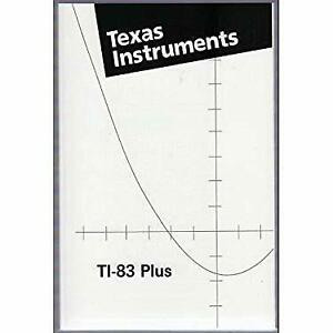 Texas-Instruments-TI-83-Plus-Manual-TI-83-Scientific-Graphing-Calculator-Manual