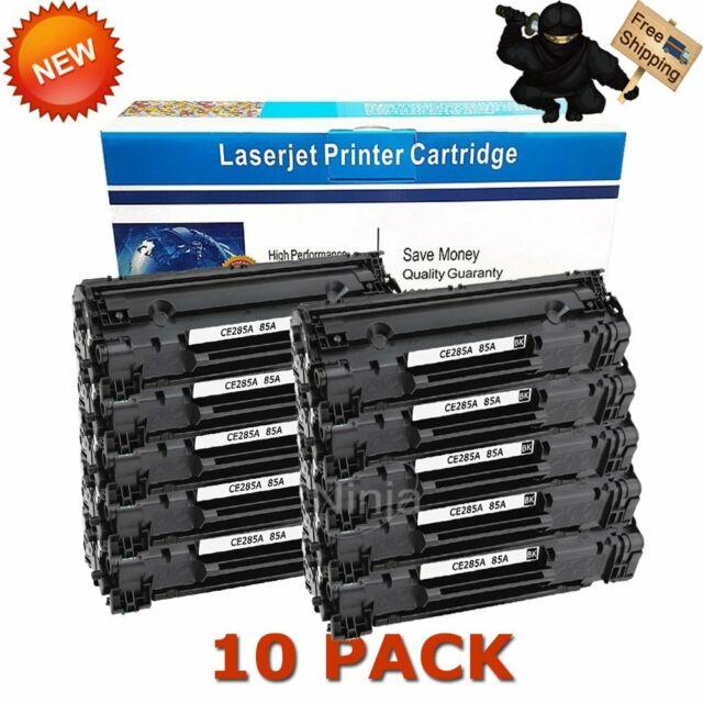 CE285A Compatible Toner Cartridge Replacement for HP Laserjet Pro M1212nf MFP M1214nfh MFP m1216nfh MFP M1213nf MFP M1219nf MFP P1102w P1109w P1005 P1006 M1132 Toner Cartridge. 6 Pack Black 85A