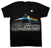 Official Pink Floyd Side Lander Adult T-shirt -rock Band David Roger Music Tee