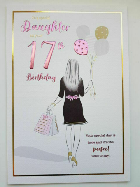 Various Designs Available 17th Birthday Cards