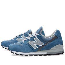 New Balance Lifestyle Training Shoe SZ 13 Blue Grey White M996JFB