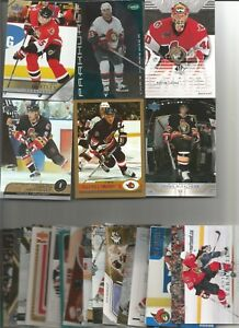 1990-2006-OTTAWA-SENATORS-HOCKEY-215-CARD-LOT