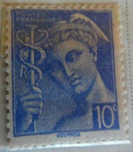 France-1938-40-Stamp-10c-MNH-Stamp-StampBook1-45
