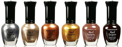 6 kleancolor nail polish  - MoonRise Fever Set