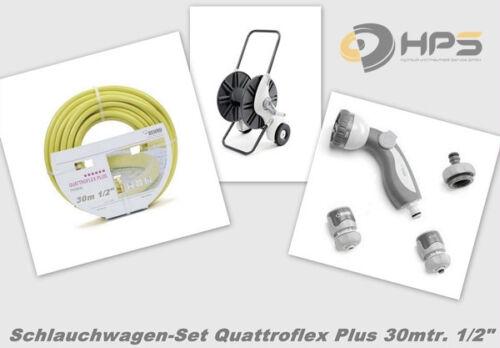 Rehau Comfort tuyau voiture-set 30m 1//2 quattroflex avec soft grip set