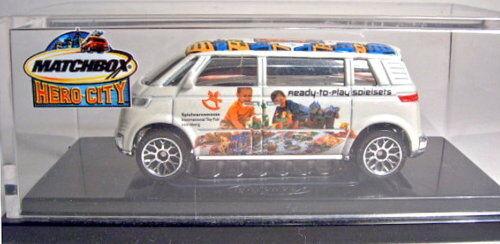 MATCHBOX vw Microbus  Nuremberg 2004  messe-modèle spécial