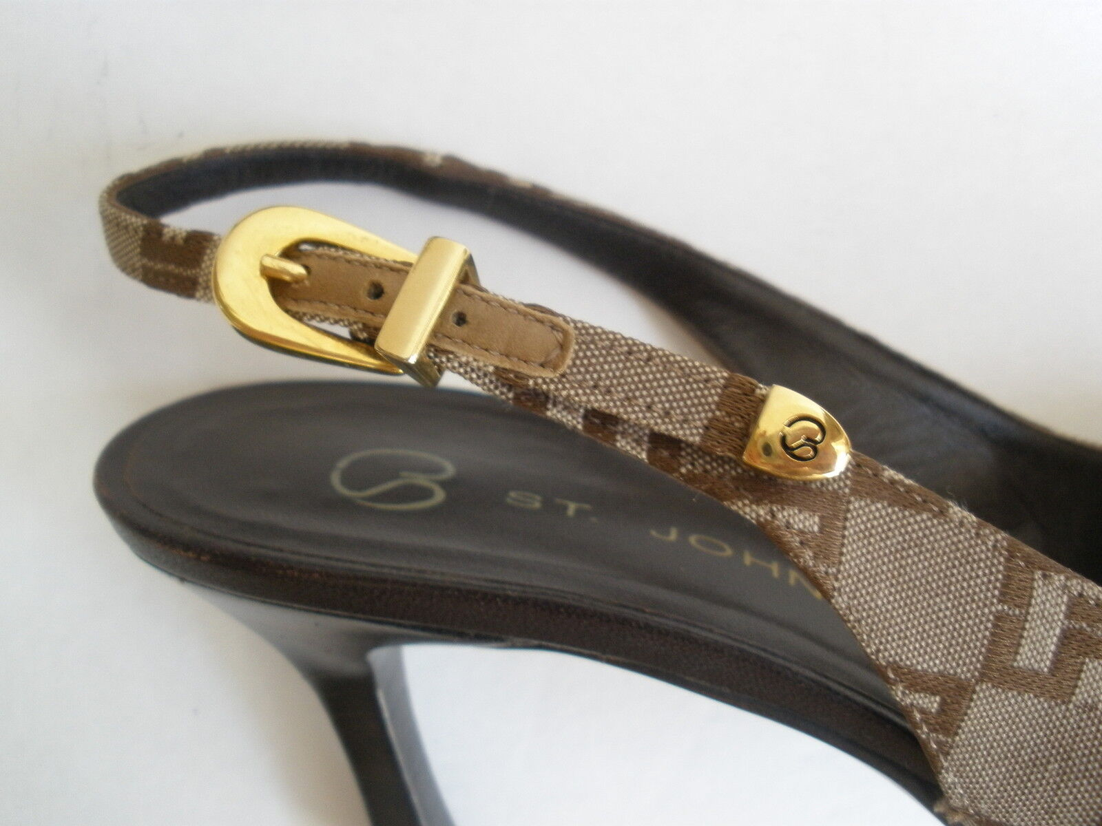 ST.JOHN 3  HEELS Größe 7 MADE  99 HOT SEXY RARE MADE 7 IN ITALY 12d176