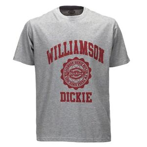 Dickies-Altoona-Hombre-Gris-mezcla-camiseta