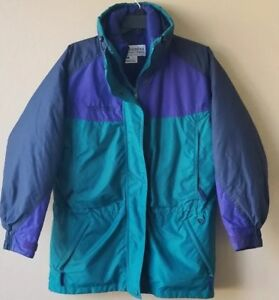8a2562aee85 Columbia Williwaw Ski Jacket Parka Coat w/ Zip-Out Down Liner ...