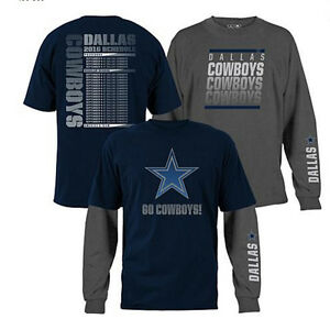 2a64dc4557 NFL 3-in-1 3 Looks in 1 Tee Shirt Combo Dallas COWBOYS ~XL ...