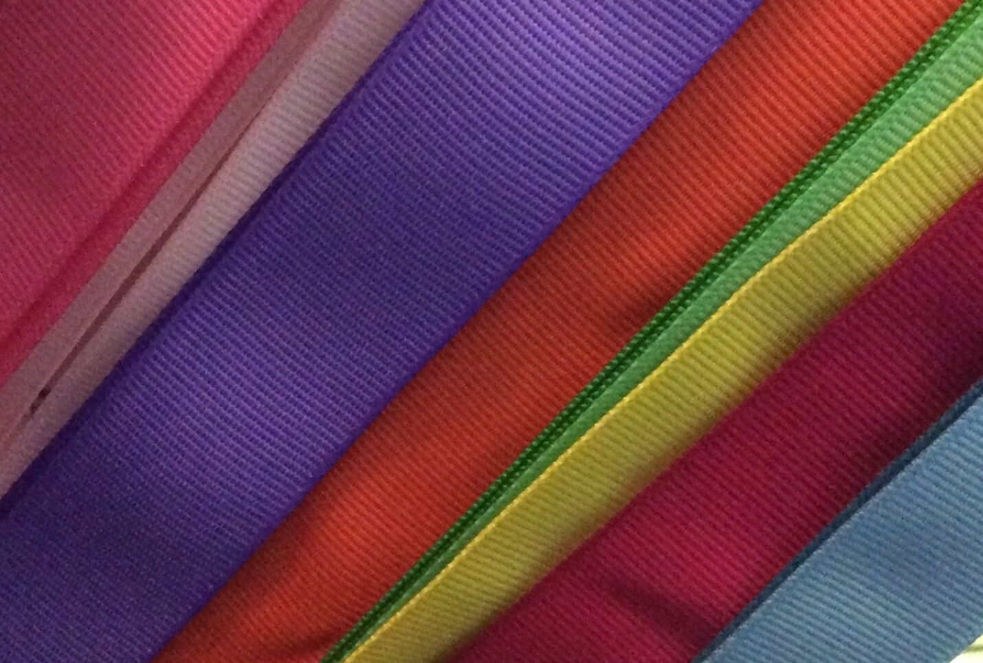 """3/"""" Grosgrain Ribbon Solid Color 3 yards USA SELLER Crafteefy 57 colors"""
