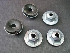 25 pcs 8-32 moulding trim clip zinc plated nuts with mastic sealer GM