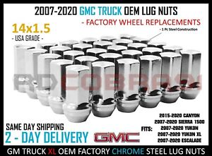 57 MM Tall 24PC Factory Style Lug Nuts Chrome Finish for ...
