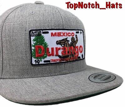 Durango Hat Mexico State Gorra DGO Cap Alacranes de Snapback Black Cap New