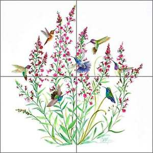 Ceramic-Tile-Mural-Backsplash-Libby-Hummingbird-Bird-Art-SLA047