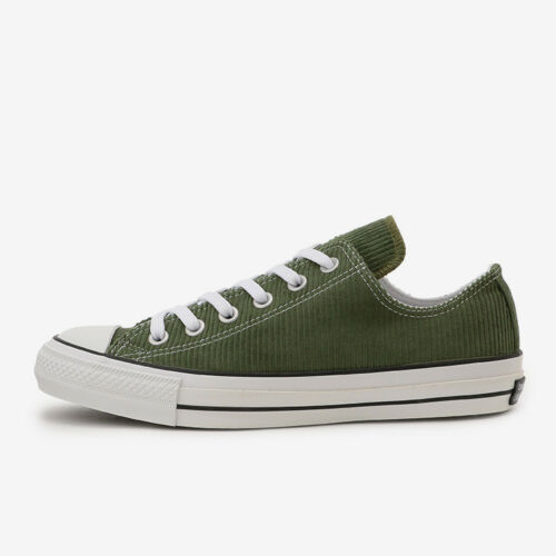 CONVERSE ALL STAR 100 CORDUROY OX Green Chuck Taylor Limited Japan Exclusive