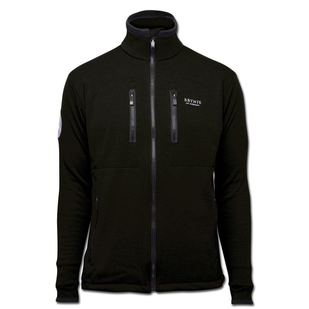 Brynje Antarctic-Jacke Buitenshuis Jacke Winterjack schwarz mit 4 Taschen