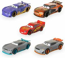 5 PK Disney Cars Lightening McQueen Next-gen Racers Pullback Die Cast