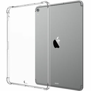 Luvvitt-iPad-Pro-11-Case-CRYSTAL-VIEW-Flexible-TPU-Slim-Back-Cover-2018-Clear