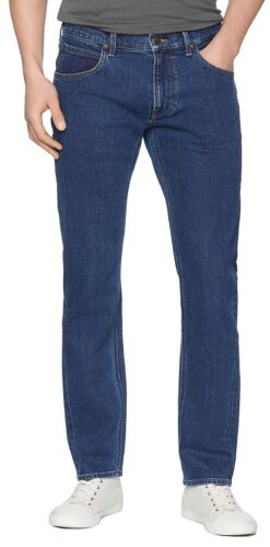 Daren Leg Fit Lee Stone Men Jeans Regular Dark Tapered Pants Slim Denim Fly Zip dwrIqpIY