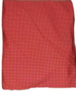 Ralph Lauren Red Amp White Wendy Gingham King Bedskirt 15 Inch Drop Split Corners Ebay