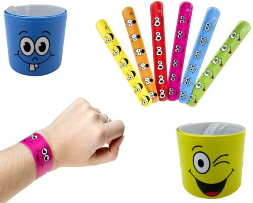 72x Schnapparmband Smile Klatscharmband Schnapp Armband Lachgesicht Spielzeug