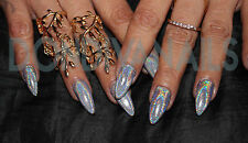 Holographic Effects Nail Art Powder Unicorn Rainbow Glitters , NEW ..HOT SELLER