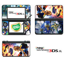 Sonic the Hedgehog Vinyl Skin Sticker for NEW Nintendo 3DS XL (with C Stick)