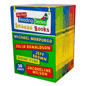 My-First-Banana-Reading-Series-30-Books-Children-Collection-Brand-New-Box-Set