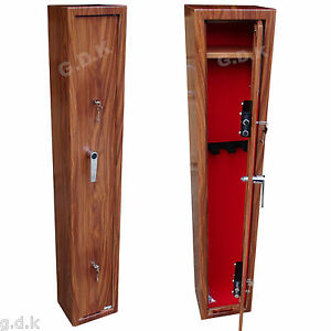 Image Is Loading PREMIUM WOOD EFFECT 3 GUN CABINET X TALL