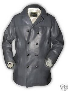 Mantel U L boot Xl Leder Neu M Jacke Marine Grau S Lederjacke Ledermantel Xxl 1wIaqFxcfw