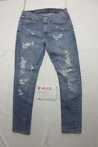 Levi's 751 (Code F917) Tg.46 W32 L30 Jeans D'Occassion Vintage