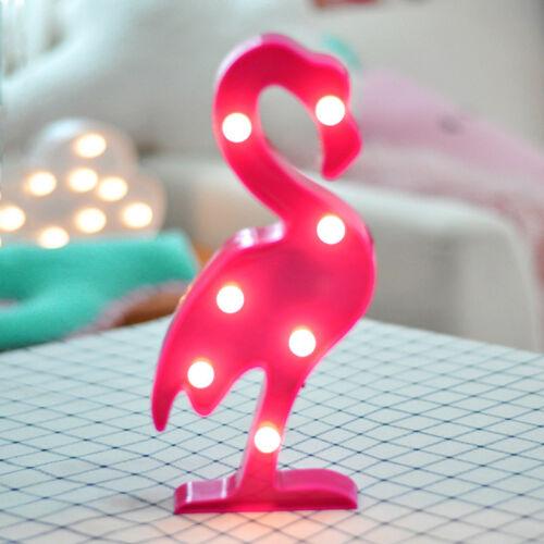 Süß 3D Stern//Mond LED Nachtlicht Baumschule Kinder Baby Schlafzimmer Dekoration
