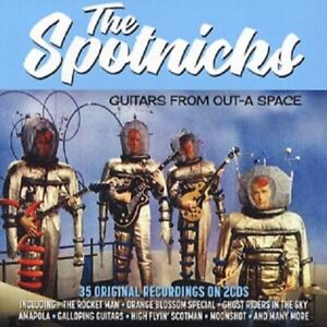 """Spotnicks - """"Guitars from Out-A Space 1961-62"""" - 2018 - CD Album"""