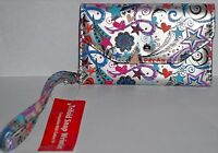 Women's Galaxy S4 Trifold Cell Phone Wallet/wristlet Card Holder starburst