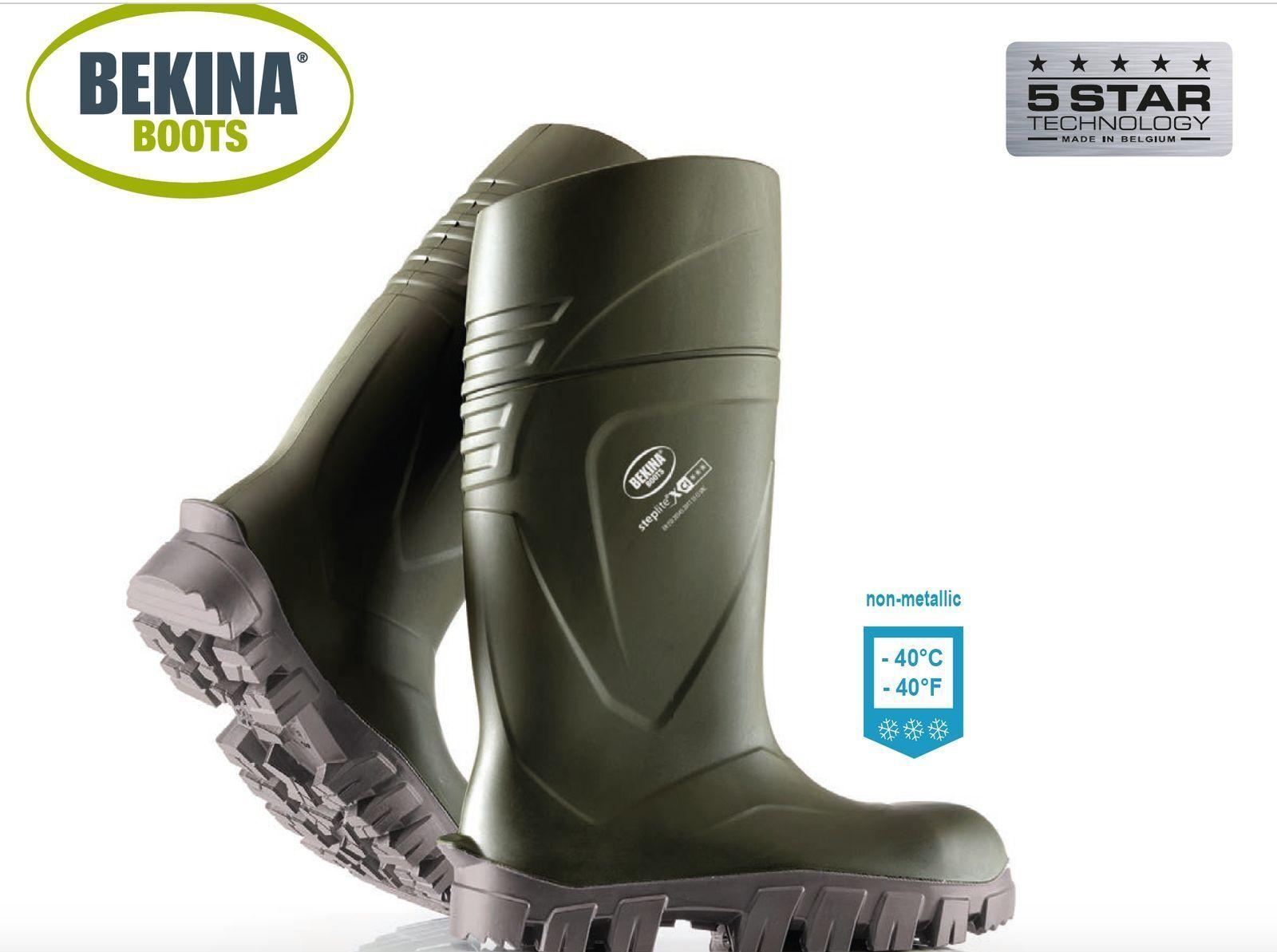 NUOVO Bekina steplite ® XCI S5 (sicurezza -40 ° C/F) Thermo Stivali Di Gomma Stivali Wellington Welly