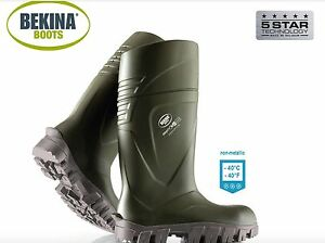 40 c thermo Welly Steplite®xci f Wellington ° Bekina Nuovo Wellies S5 Boots Safety a1TxwIY6n