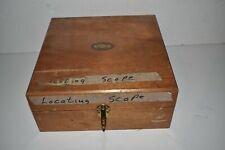 Ltjm Moore Tool Locating Scope 20x In Wood Box Px24