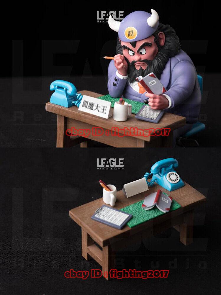 Liga Studio LG Dragon Ball Z sentado Rey Yama WCF GK estatua Juguetes en existencias