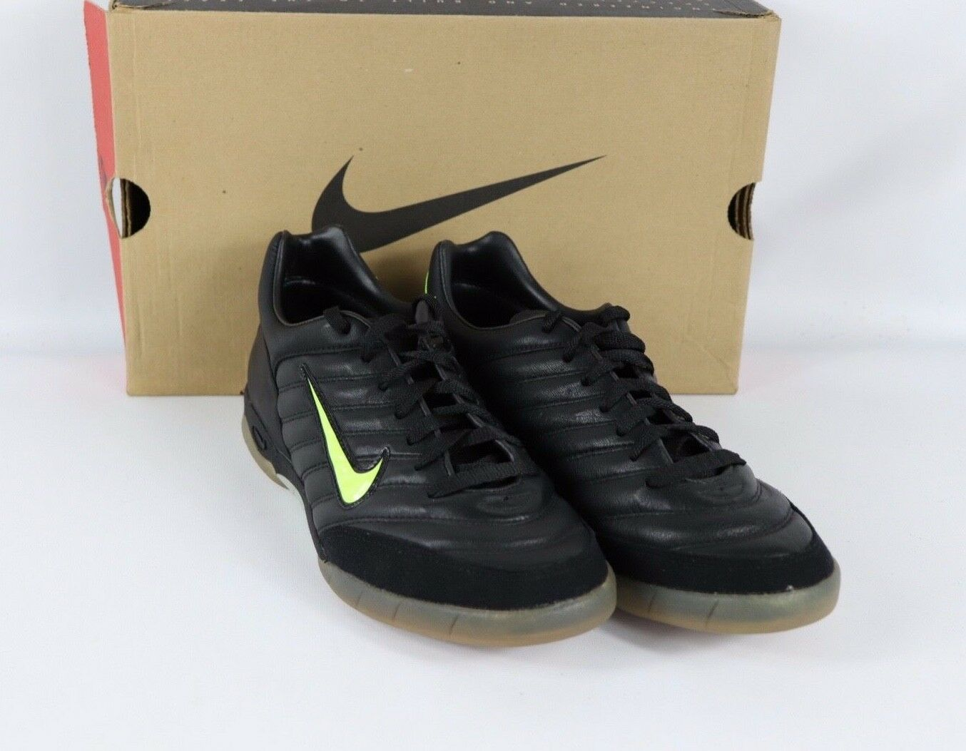Vintage 90s New Nike Mens 8.5 Air Zoom Noventa Indoor Soccer shoes Trainers