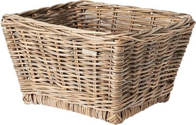 0.338.639 8 Basil Fahrradkorb vorne Rattankorb Lenker Dalton Basket M 38x46x25