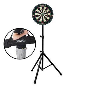 Unicorn-Striker-Bristle-Dartboard-amp-Gorilla-Arrow-Pro-Portable-Dart-Board-Stand